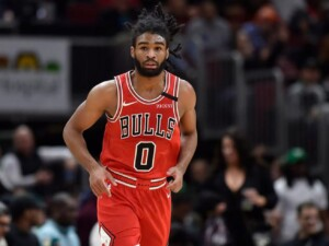 The hope for the Bulls is that guard Coby White starts figuring it out