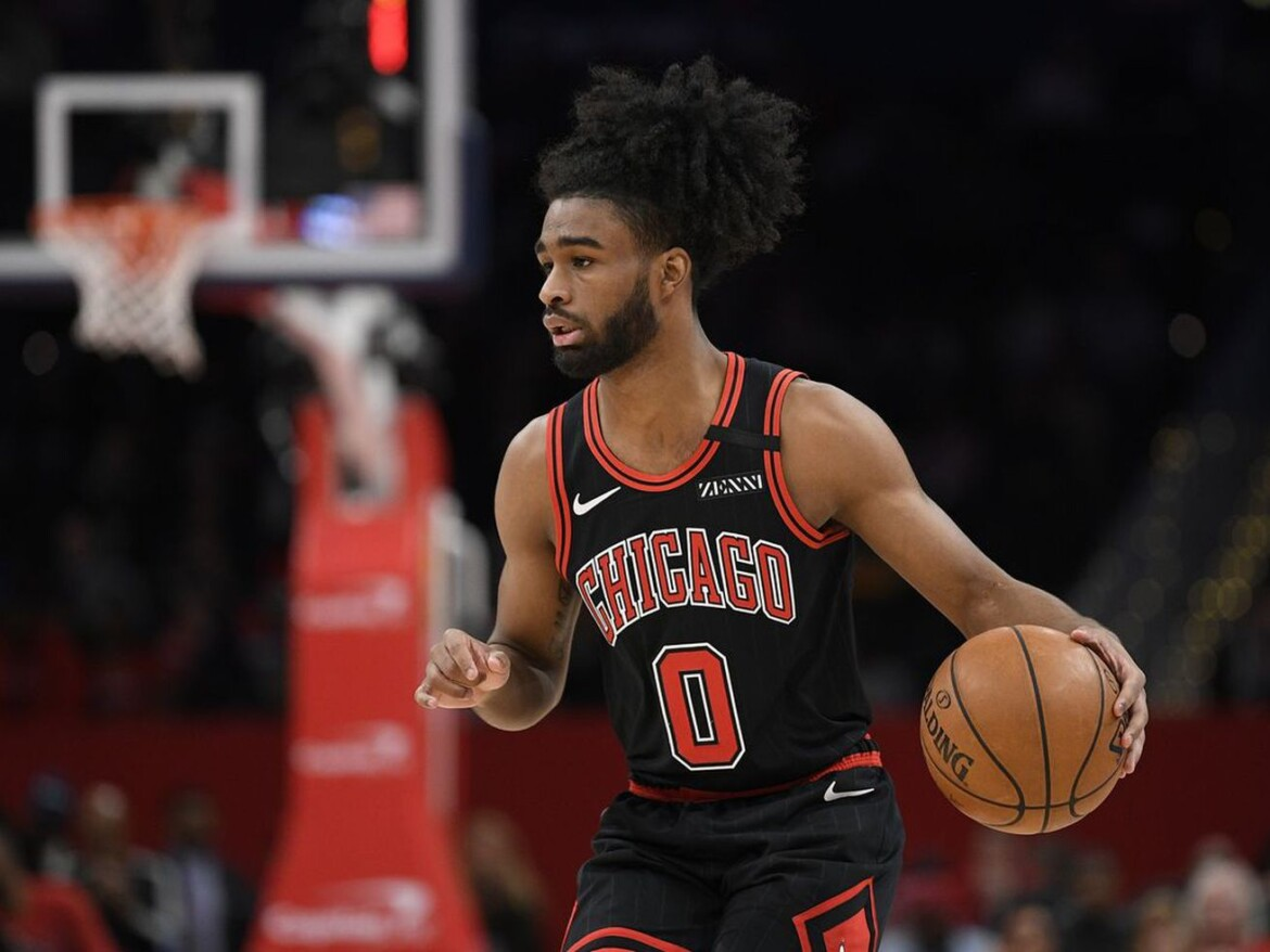 Bulls' Coby White is pointing in right direction, but test is coming