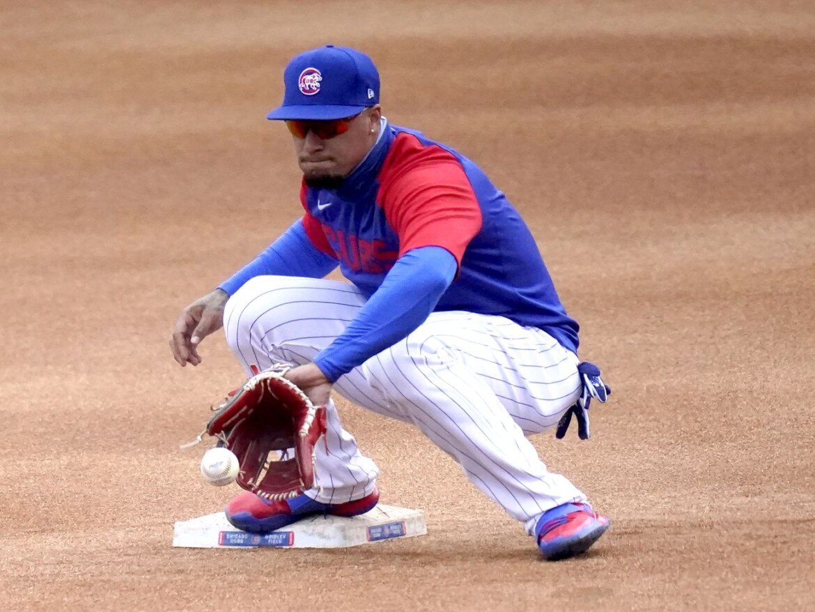 Baez back in the Cubs' lineup in finale vs. the Braves