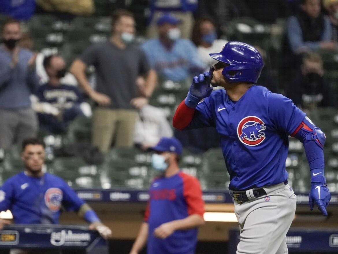 Hit this! Willson Contreras gets his revenge as game-winning homer lifts Cubs past Brewers
