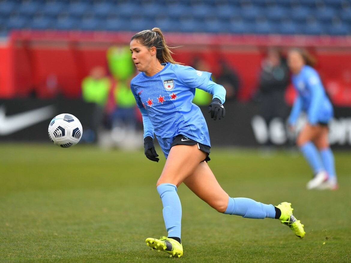 Katie Johnson scores Red Stars' first goal of season, but team settles for draw