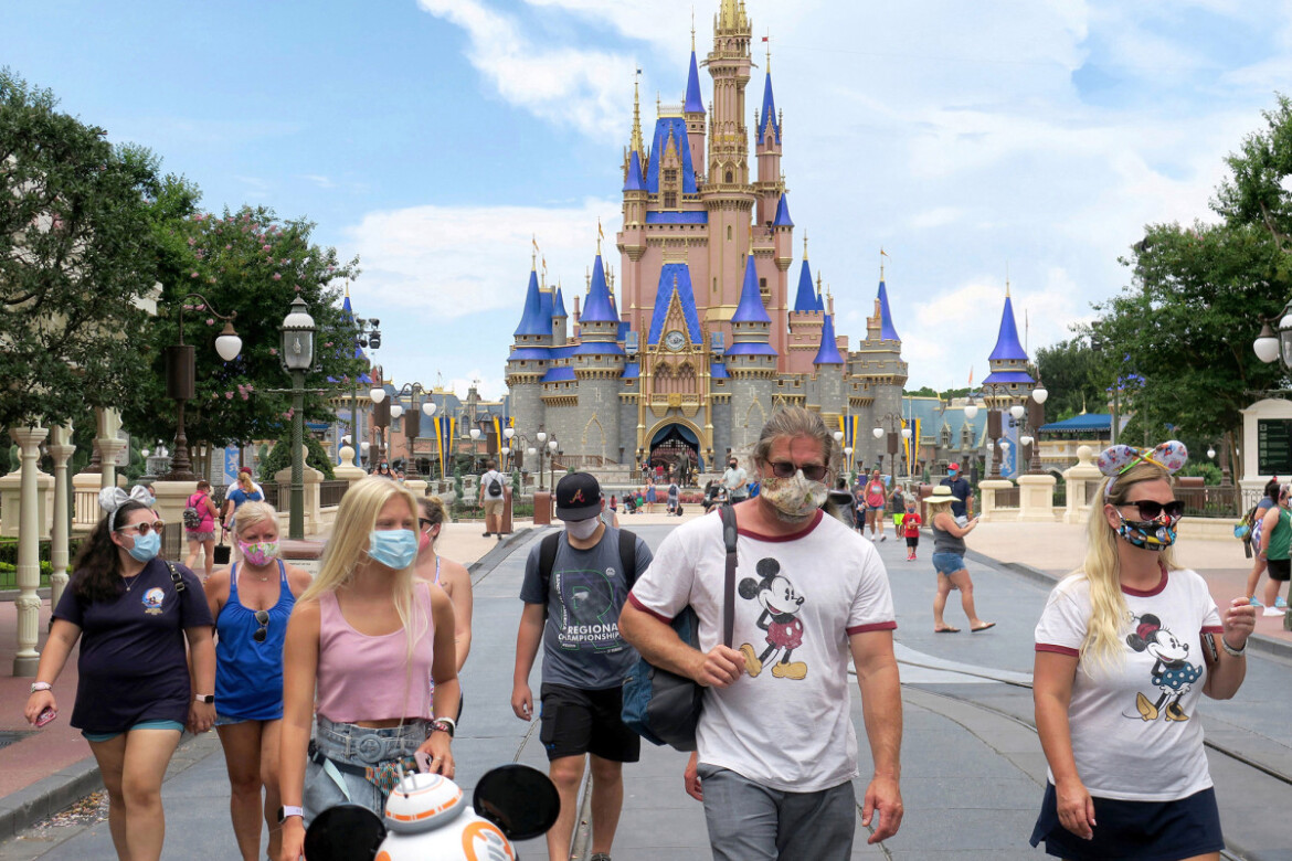 Disney World to allow guests to take off masks for photos