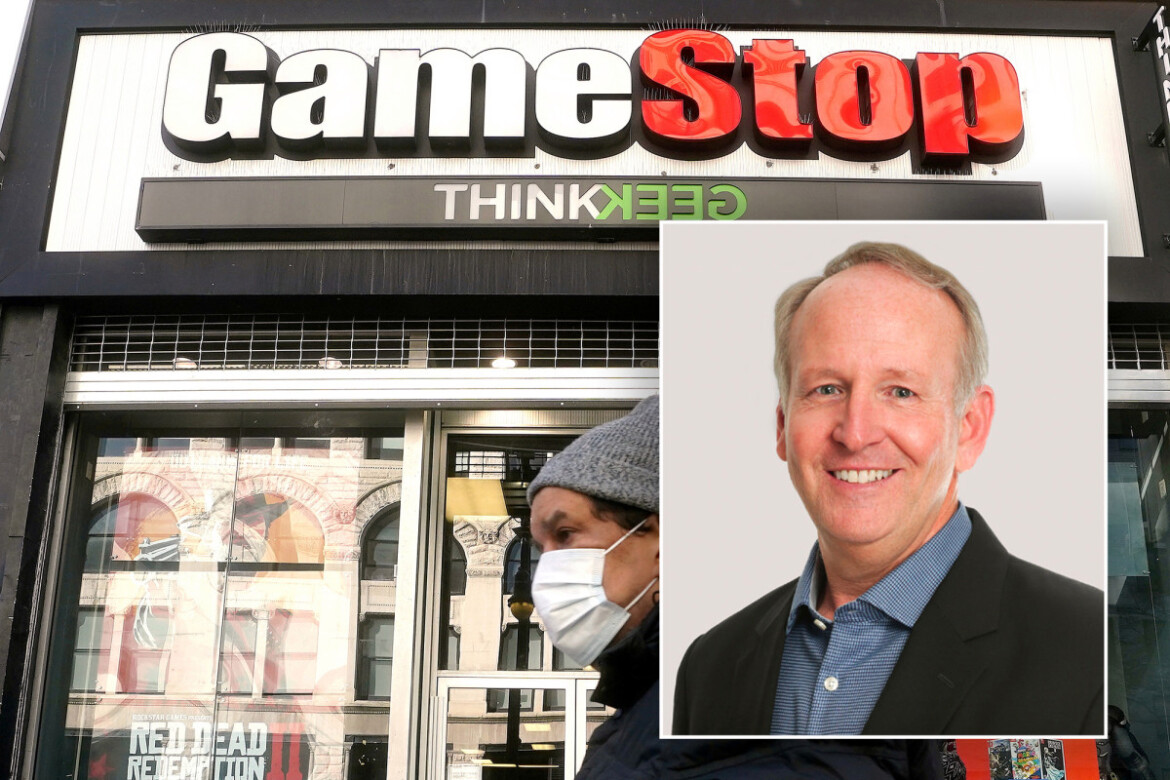 GameStop CEO George Sherman to step down, lifting the retailer's stock