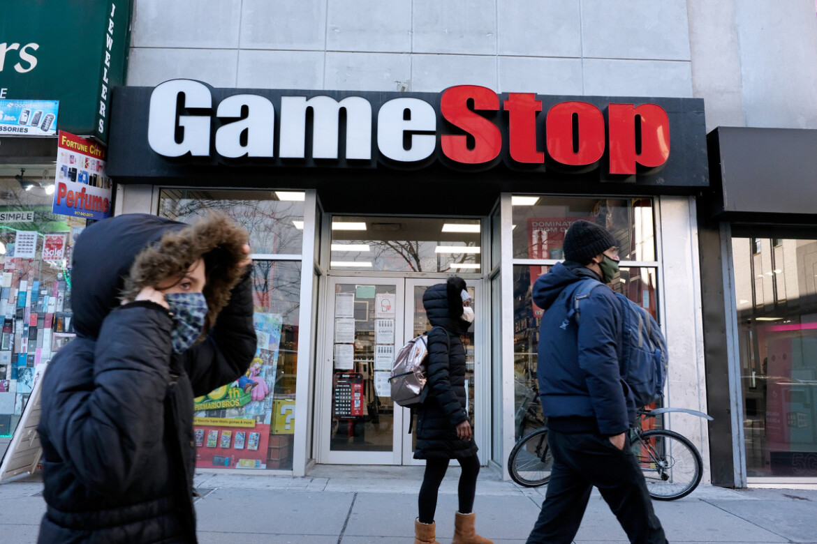 GameStop shares surge after company said it raised $550M in stock sales