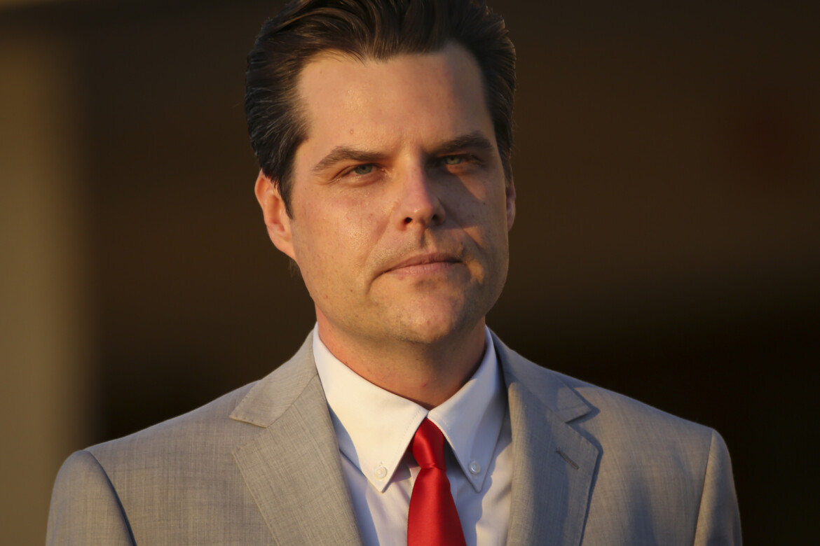 Matt Gaetz's Wingman Claims the Congressman Paid for Sex With a 17-Year-Old