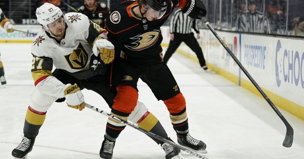 Ducks blanked by Golden Knights