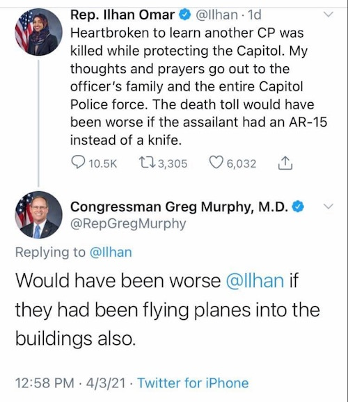 GOP Lawmaker Uses 9/11 to Troll Ilhan Omar