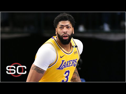 'Anthony Davis trusting that leg is everything for the Lakers' – Brian Windhorst   SportsCenter