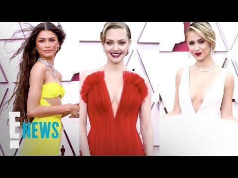 Best Fashion Moments at The 2021 Oscars   E! News