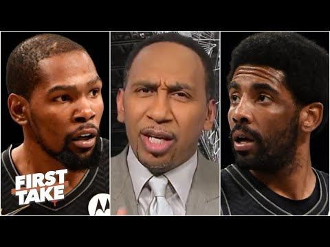 Kevin Durant & Kyrie Irving will regret choosing the Nets over the Knicks – Stephen A.   First Take