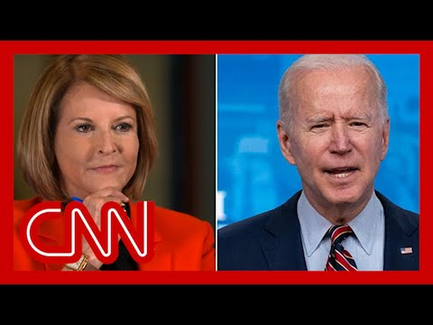 'He showed up': Gloria Borger on Biden's vaccine rollout