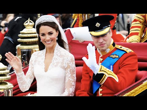 Prince William & Kate Middleton's Wedding Day 10 Years Later
