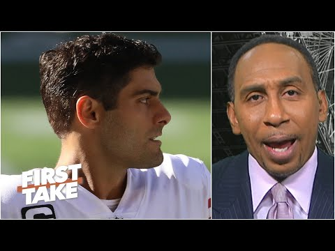 Stephen A. says New England is the 'ideal place' for Jimmy Garoppolo | First Take