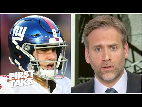 Should the Giants consider trading up for a QB? Max Kellerman says it's worth a shot | First Take