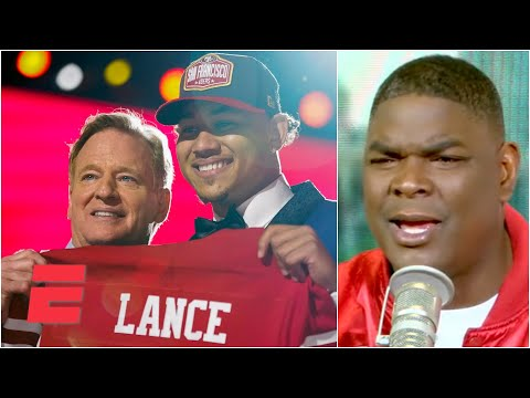 Keyshawn Johnson reacts to the 49ers drafting Trey Lance over Mac Jones | KJZ