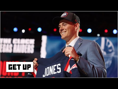 Reacting to Bill Belichick drafting Mac Jones with the Patriots' 15th pick | Get Up