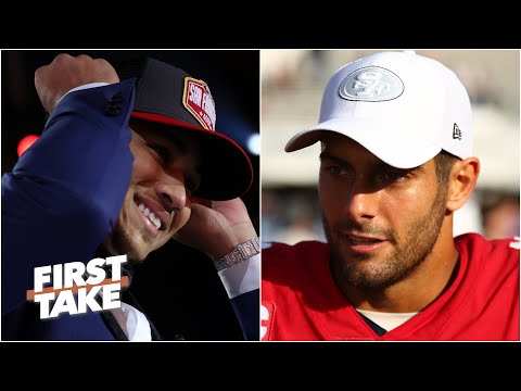 Should Jimmy Garoppolo have to compete with Trey Lance? | First Take