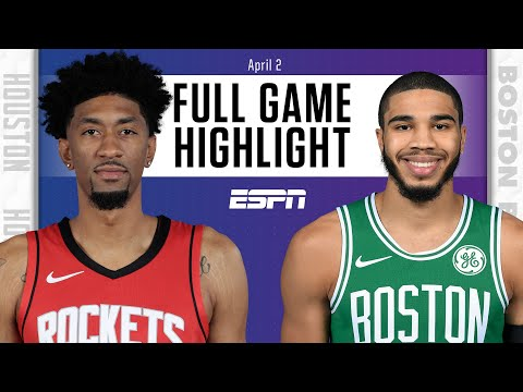 Houston Rockets vs. Boston Celtics [FULL GAME HIGHLIGHTS] | NBA on ESPN