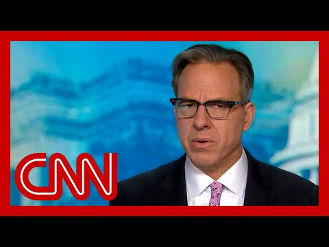 'That's a confession': Tapper on Trump's statement on his handling of pandemic