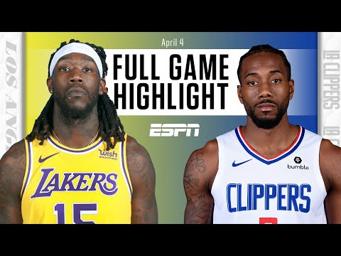 Los Angeles Lakers vs. LA Clippers [FULL GAME HIGHLIGHTS] | NBA on ESPN