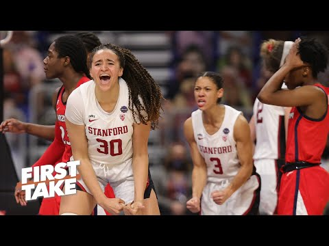 Reacting to Stanford's dramatic win against Arizona in the 2021 NCAA Women's Tournament title game