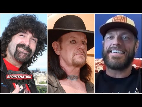 Mick Foley and The Undertaker: Edge relives his GREATEST WrestleMania moments   SportsNation