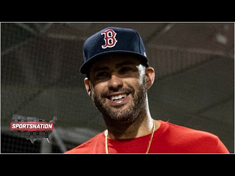 J.D. Martinez on the Red Sox's chances this season and his weirdest superstition | SportsNation