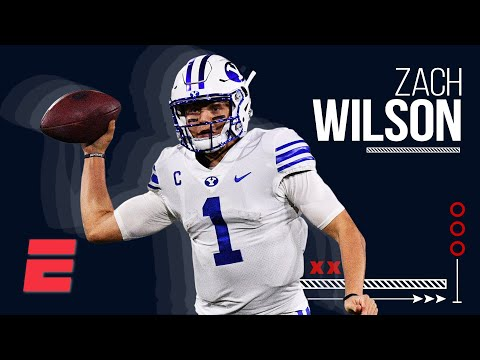 Zach Wilson is the NFL draft's most creative playmaking quarterback | Top Prospects