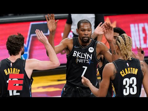 Kevin Durant comes off the bench and drops 17 points in 19 minutes for the Nets | KJZ