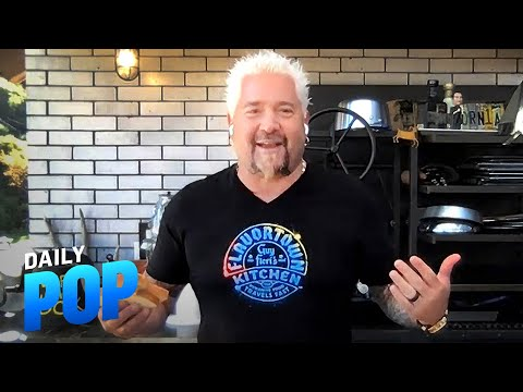 How to Make the Perfect Grilled Cheese With Guy Fieri | Daily Pop | E! News