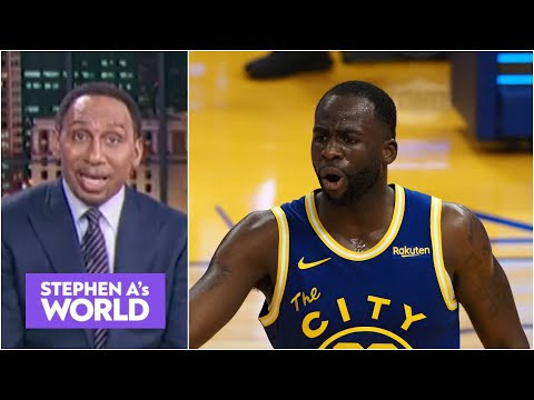 You're WRONG, bro! – Stephen A. reacts to Draymond Green's comments | Stephen A's World