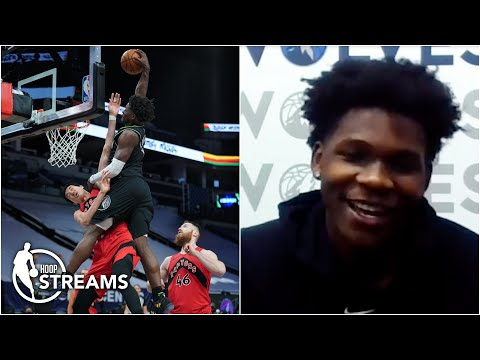 Anthony Edwards on Rookie of the Year award: 'I got a chance' | Hoop Streams