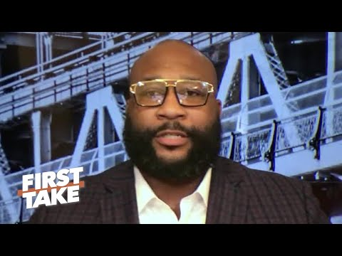 Marcus Spears fears the Cowboys will draft TE Kyle Pitts   First Take