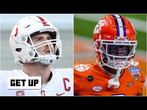 Greeny's 2021 NFL Draft Diary: First Round QBs, RBs and WRs | Get Up