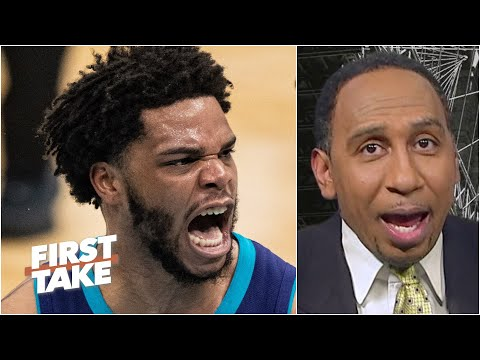 'This is the dunk of the year!' – Stephen A. reacts to Miles Bridges posterizing Clint Capela