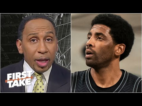 Stephen A. reacts to the Nets' loss to the Lakers and shares why he is concerned about Kyrie Irving