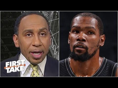Stephen A. reacts to Kevin Durant's comments about being driven by development, not titles