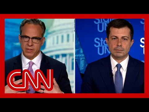 Tapper presses Buttigieg on infrastructure: Are you hurting your cause?