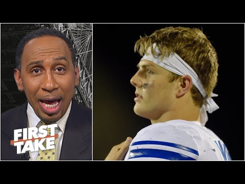 Competition matters! – Stephen A. isn't sold on Zach Wilson thanks to BYU's opponents | First Take