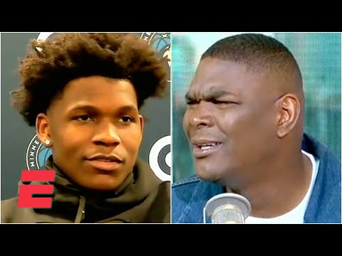 """Keyshawn Johnson can't believe Anthony Edwards doesn't know who A-Rod is: """"I'm not buying that!'"""