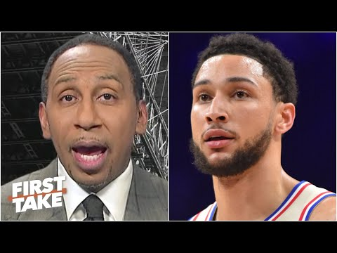 Ben Simmons has no business talking about the Nets' defense – Stephen A. reacts | First Take