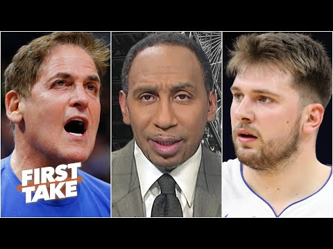 Stephen A. reacts to Mark Cuban and Luka Doncic's comments about the NBA's play-in tournament