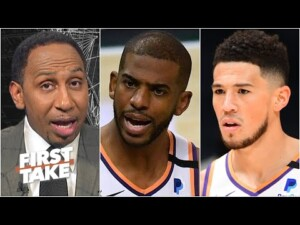 Stephen A. pumps the brakes on the Suns' title chances   First Take