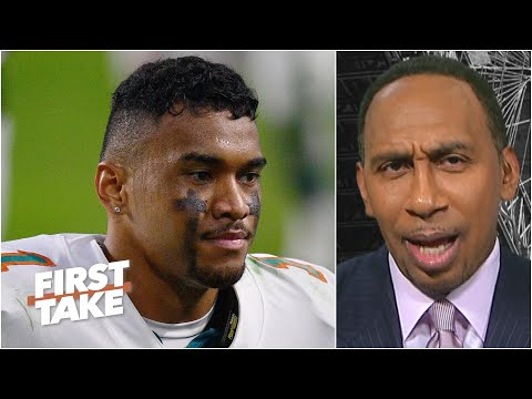 Stephen A. has faith in Tua Tagovailoa, but tells the Dolphins to draft weapons   First Take