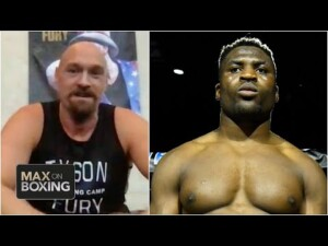 Tyson Fury says he'll beat Francis Ngannou after Anthony Joshua | Max on Boxing