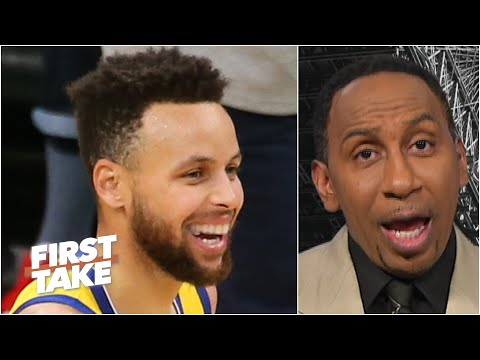 Stephen A. calls Steph Curry the greatest offensive weapon in the NBA   First Take