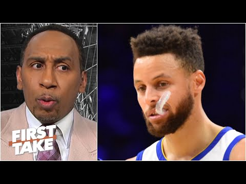 Stephen A. isn't calling Steph Curry the greatest point guard ever | First Take