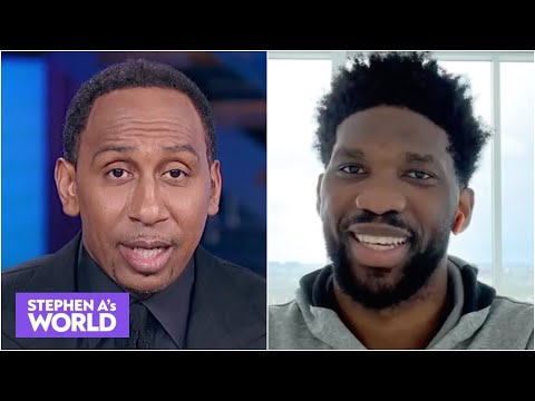 Joel Embiid makes a strong case for MVP | Stephen A's World