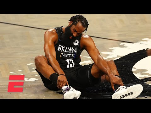 Woj shares the latest on James Harden's hamstring injury for the Brooklyn Nets | KJZ
