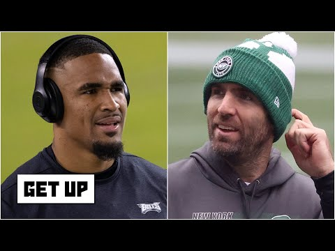 Eagles HC Nick Siranni won't commit to Jalen Hurts as the starter over Joe Flacco | Get Up